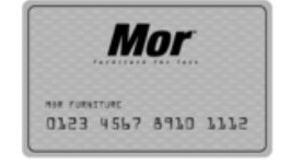 Mor Furniture stores financing silver credit card